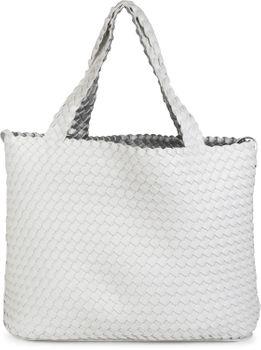 styleBREAKER XXL Wendetasche in Flecht-Optik, Shopper Tasche, Handtaschen Set, 2 Taschen, Bag in Bag, Schultertasche, Damen 02012163 – Bild 21