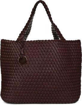 styleBREAKER XXL Wendetasche in Flecht-Optik, Shopper Tasche, Handtaschen Set, 2 Taschen, Bag in Bag, Schultertasche, Damen 02012163 – Bild 23