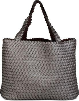 styleBREAKER XXL Wendetasche in Flecht-Optik, Shopper Tasche, Handtaschen Set, 2 Taschen, Bag in Bag, Schultertasche, Damen 02012163 – Bild 24