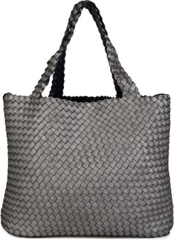 styleBREAKER XXL Wendetasche in Flecht-Optik, Shopper Tasche, Handtaschen Set, 2 Taschen, Bag in Bag, Schultertasche, Damen 02012163 – Bild 39
