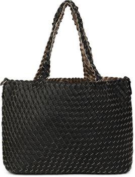 styleBREAKER XXL Wendetasche in Flecht-Optik, Shopper Tasche, Handtaschen Set, 2 Taschen, Bag in Bag, Schultertasche, Damen 02012163 – Bild 44