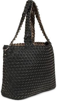 styleBREAKER XXL Wendetasche in Flecht-Optik, Shopper Tasche, Handtaschen Set, 2 Taschen, Bag in Bag, Schultertasche, Damen 02012163 – Bild 46