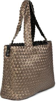 styleBREAKER XXL Wendetasche in Flecht-Optik, Shopper Tasche, Handtaschen Set, 2 Taschen, Bag in Bag, Schultertasche, Damen 02012163 – Bild 47