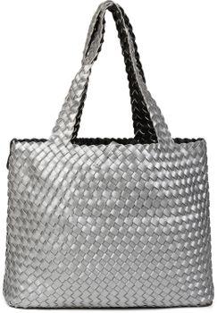 styleBREAKER XXL Wendetasche in Flecht-Optik, Shopper Tasche, Handtaschen Set, 2 Taschen, Bag in Bag, Schultertasche, Damen 02012163 – Bild 50
