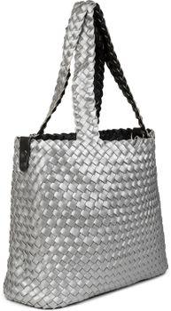 styleBREAKER XXL Wendetasche in Flecht-Optik, Shopper Tasche, Handtaschen Set, 2 Taschen, Bag in Bag, Schultertasche, Damen 02012163 – Bild 52