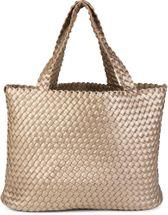 styleBREAKER XXL Wendetasche in Flecht-Optik, Shopper Tasche, Handtaschen Set, 2 Taschen, Bag in Bag, Schultertasche, Damen 02012163 – Bild 11
