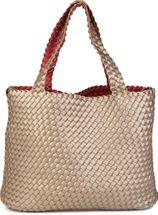 styleBREAKER XXL Wendetasche in Flecht-Optik, Shopper Tasche, Handtaschen Set, 2 Taschen, Bag in Bag, Schultertasche, Damen 02012163 – Bild 14