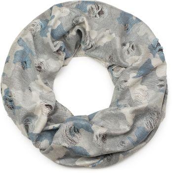 styleBREAKER Loop Schal mit Camouflage Muster im Destroyed Vintage used Look, Schlauchschal, Tuch, Unisex 01016134 – Bild 5