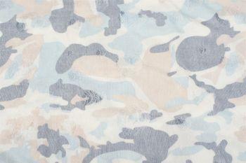 styleBREAKER Loop Schal mit Camouflage Muster im Destroyed Vintage used Look, Schlauchschal, Tuch, Unisex 01016134 – Bild 17