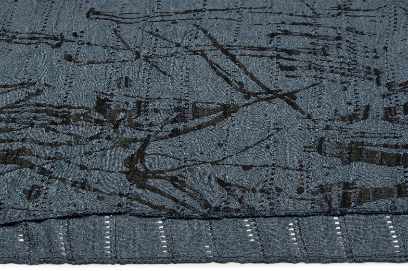 Unisex Loop Schal Splat Style Farbklecks Muster Used Look Schlauchschal Tuch