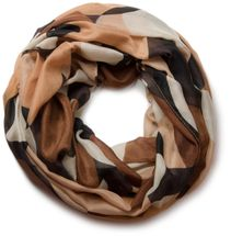 styleBREAKER loop tube scarf with great retro points 01017011 – Bild 2