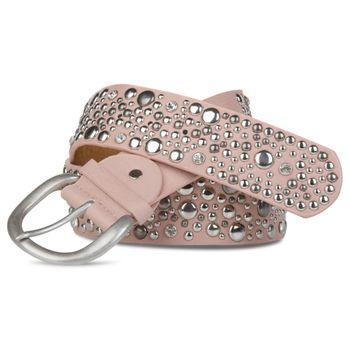 styleBREAKER studded belt in vintage style, wide women's belt with studs and rhinestones, shortened 03010020 – Bild 6