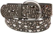 styleBREAKER Nietengürtel im Vintage Style, breiter Gürtel mit Nieten und Strasssteine, Glitzergürtel, kürzbar, Damen 03010020 – Bild 11