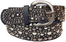 styleBREAKER studded belt in vintage style, wide women's belt with studs and rhinestones, shortened 03010020 – Bild 12