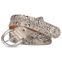 styleBREAKER studded belt in vintage style, wide women's belt with studs and rhinestones, shortened 03010020 – Bild 8