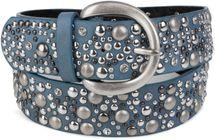 styleBREAKER Nietengürtel im Vintage Style, breiter Gürtel mit Nieten und Strasssteine, Glitzergürtel, kürzbar, Damen 03010020 – Bild 23