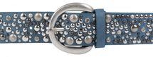 styleBREAKER studded belt in vintage style, wide women's belt with studs and rhinestones, shortened 03010020 – Bild 26