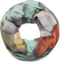styleBREAKER Loop Schal mit geometrischem Muster Print, Schlauchschal, Tuch, Damen 01016141 – Bild 1
