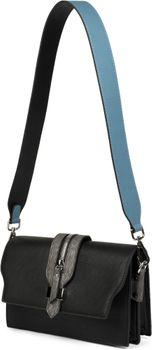 styleBREAKER Schulterriemen für Taschen in Unifarben, Wechsel Taschengurt mit Karabinerhaken für Umhängetaschen, Unisex 02013003 – Bild 7