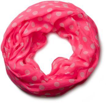 styleBREAKER Punkte Muster Loop Schlauchschal, Polka Dots, Damen 01016043 – Bild 10