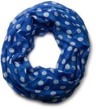 styleBREAKER Punkte Muster Loop Schlauchschal, Polka Dots, Damen 01016043 – Bild 1