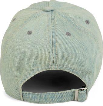 styleBREAKER 6-Panel Vintage Jeans Cap mit Camouflage Stern und aufgedruckter Nummer 52, Used Look, Baseball Cap, verstellbar, Unisex 04023053 – Bild 9