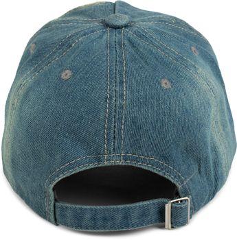 styleBREAKER 6-Panel Vintage Jeans Cap mit Camouflage Stern und aufgedruckter Nummer 52, Used Look, Baseball Cap, verstellbar, Unisex 04023053 – Bild 10