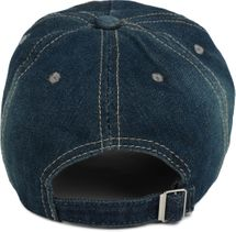 styleBREAKER 6-Panel Vintage Jeans Cap mit Camouflage Stern und aufgedruckter Nummer 52, Used Look, Baseball Cap, verstellbar, Unisex 04023053 – Bild 12