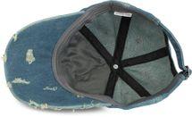 styleBREAKER 6-Panel Vintage Jeans Cap mit Camouflage Stern und aufgedruckter Nummer 52, Used Look, Baseball Cap, verstellbar, Unisex 04023053 – Bild 17