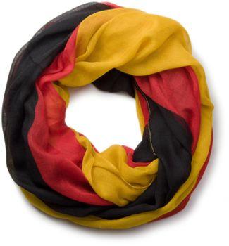styleBREAKER stylisch leichter Loop oder Schal im Deutschland Flaggen Design 01017013 – Bild 2
