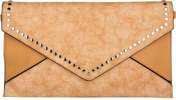 styleBREAKER Envelope Clutch im Kuvert Design mit Nieten, 2-Tone washed Vintage Look, Abendtasche, Damen 02012172 – Bild 7