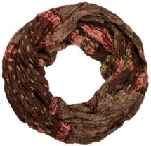 styleBREAKER loop tube scarf with allover floral pattern mix, crash and crinkle, paisley, points, flowers, roses 01014008 – Bild 14