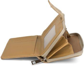 styleBREAKER Geldbörse mit Stern Cutout in Metallic oder Pailletten Optik, Reißverschluss, Portemonnaie, Damen 02040076 – Bild 11