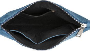 styleBREAKER Jeans Clutch mit glitzer Pailletten Ananas, Schulterriemen und Handschlaufe, Tasche, Damen 02012176 – Bild 11