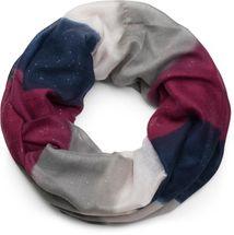 styleBREAKER Glitzer Loop Schal mit Streifen Farbverlauf Muster, Schlauchschal, Tuch, Glitzerschal, Damen 01017048 – Bild 6