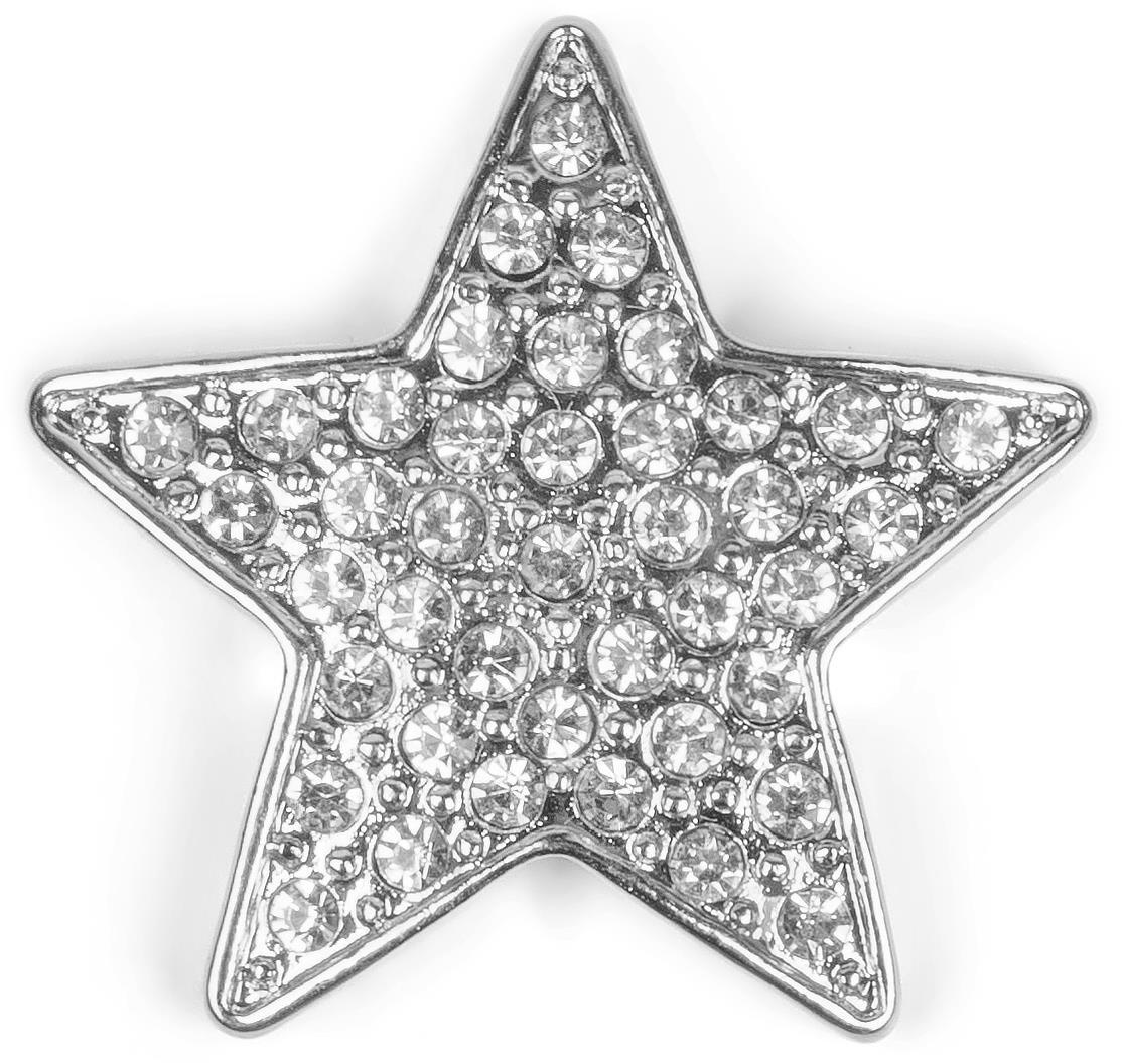 Brosche Stern Design Magnet Schmuck Anhänger für Schals Ponchos Tücher Damen