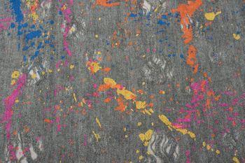 styleBREAKER Loop Schal mit Splat Style Farbklecks Muster im Used Look, Schlauchschal, Tuch, Unisex 01017050 – Bild 8