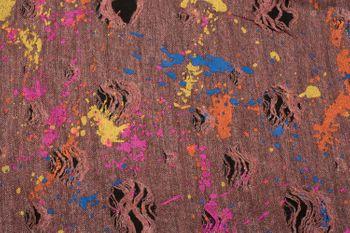styleBREAKER Loop Schal mit Splat Style Farbklecks Muster im Used Look, Schlauchschal, Tuch, Unisex 01017050 – Bild 10