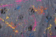 styleBREAKER Loop Schal mit Splat Style Farbklecks Muster im Used Look, Schlauchschal, Tuch, Unisex 01017050 – Bild 14