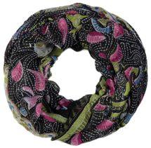 styleBREAKER Loop Schlauchschal mit Animal Print und Paisley Muster, Schal, Tuch, Damen 01014010 – Bild 3