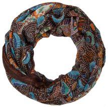 styleBREAKER Loop Schlauchschal mit Animal Print und Paisley Muster, Schal, Tuch, Damen 01014010 – Bild 4