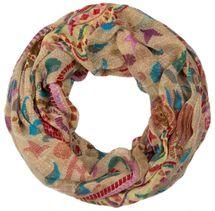 styleBREAKER Loop Schlauchschal mit Animal Print und Paisley Muster, Schal, Tuch, Damen 01014010 – Bild 2