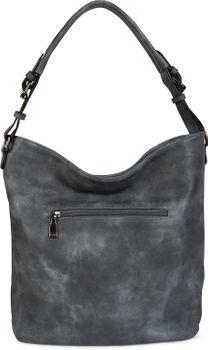 styleBREAKER edle 2-farbige Hobo Bag Handtasche mit Pailletten Streifen, Shopper, Schultertasche, Tasche, Damen 02012181 – Bild 19