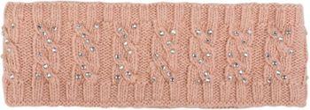 styleBREAKER Stirnband mit Zopfmuster und Strass, weiches Fleece Innenfutter, Haarband, Headband, Damen 04026001 – Bild 15