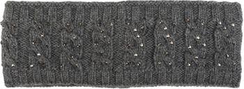 styleBREAKER Stirnband mit Zopfmuster und Strass, weiches Fleece Innenfutter, Haarband, Headband, Damen 04026001 – Bild 13