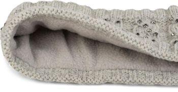 styleBREAKER Stirnband mit Zopfmuster und Strass, weiches Fleece Innenfutter, Haarband, Headband, Damen 04026001 – Bild 12