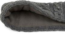 styleBREAKER Stirnband mit Zopfmuster und Strass, weiches Fleece Innenfutter, Haarband, Headband, Damen 04026001 – Bild 7