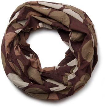 styleBREAKER light retro polka dot pattern tube scarf, unisex 01014040 – Bild 8