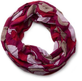 styleBREAKER light retro polka dot pattern tube scarf, unisex 01014040 – Bild 10