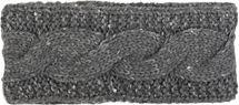 styleBREAKER Damen Stirnband Grobstrick mit Zopfmuster und Pailletten, warmes Fleece Innenfutter, Haarband, Headband 04026002 – Bild 15